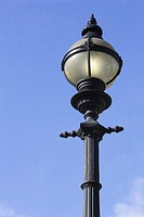 Blue, Day, Lamppost