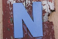 Blue, Damaged, Close_Up, Alphabet