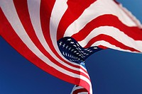 Flag, detail, nationality, shadow, colorful, strips (thumbnail)