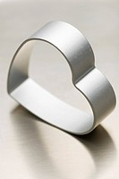 Heart Shape, Heart_Shaped, Indoors, Metallic, Mould