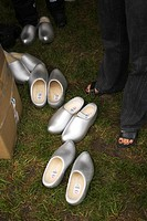 Cardboard Box, Clogs, Day, Garden, Grass (thumbnail)