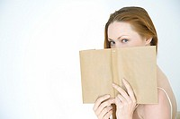 Woman with book (thumbnail)