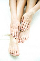 Feet and hands close up (thumbnail)