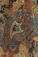 Carpet, Close_Up, Embroidery, Floral Pattern, Full Frame
