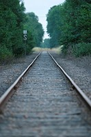 Railroad, Track, Way