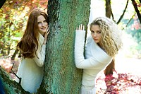Autumn portrait of young women (thumbnail)
