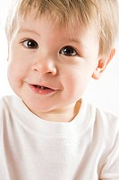 Portrait of smiling baby boy (thumbnail)