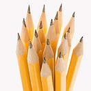 Group of sharp pencils