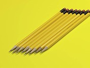 pencil, business supplies, writing instrument, school stationery, stationery, business, artifact