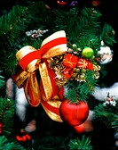 Seasons, christmas, decoration, ribbon, tree, film (thumbnail)