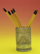 writing instrument, pencil holder, school stationery, stationery, business supplies, pencil, artifact