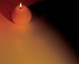 object, light, flame, burning candle, candlelight, candle