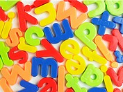 Magnetic letters close-up (thumbnail)