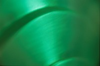 Green Surface With Curves