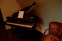 Grand Piano In Corner (thumbnail)