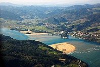 Urdaibai biosphere reserve, Sukarrieta, Biscay, Basque country, Spain