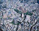 Ochanomizu staion surrounding, Buildings, Tokyo, Japan