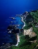 Shakotan cape, Shimamui Coast, Sea, Ocean, Shakotan Peninsula, Hokkaido, Japan