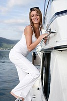 young adult, laughing, beauty, yacht, trip, girl
