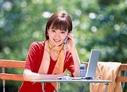 Computer, Female, Japan