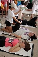 Florida, Miami Beach, ´Ocean Drive´, Lummus Park, SoBeFit Magazine 5K Run Walk Festival, family event, runner, race, competition, fitness, health, spo...