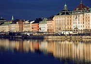 Gamla Stan is the old part of Stockholm in which the Royal Palace is located.