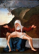 Pieta': Ludovico Mazzolino c1480_1528  Italian artist