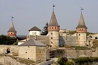 Kamyanets Podilsky,Kamieniec Podolski,old castle,High Castle,forteress,12th-18th century,Khmelnytskyi oblast,Podillia,Podillya,Podol region,Western Uk...