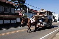 Kitakata, warehouse wagon, Kitakata, Fukushima, Tohoku, Japan
