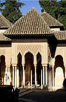 Moorish architecture, Alhambra, Granada, Spain