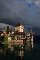 Oberhofen castle, Kanton Berne, Switzerland