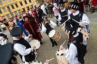 Medieval parade of Cavalcata dei Magi, Florence Firenze, Tuscany, Italy, Europe