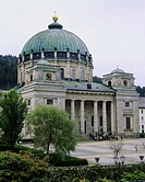 geography / travel, Germany, Baden_Wuerttemberg, St. Blasien, churches, St. Blasius cathedral, exterior view, Europe, Baden Wurttemberg, Württemberg, ...
