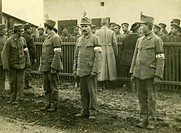 events, First World War / WWI, medical service, Hungarian orderlies in a POW camp, 1915, Austria_Hungary, prisoners, 20th century, historic, historica...
