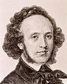 Felix Mendelssohn (1809-1847), German composer