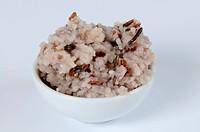 Boiled natural rice mixture