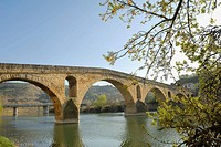 Puente La Reina, Way of St James. Navarra, Spain