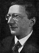 Doeblin, Alfred, 10.8.1878 _ 26.6.1957, German author / writer, portrait with signature, 1920s, poet, essayist, glasses, autograph, Doblin, Döblin,