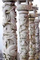 Carving columns