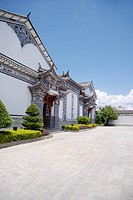 China, Yunnan Province, Architectural Feature about Bai Minority
