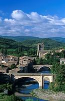 Die Stadt Lagrasse, Frankreich, Languedoc_Roussillon, Lagrasse _ Lagrasse Village, France, Languedoc_Roussillon, Lagrasse