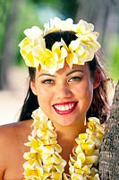 Maedchen von der Insel Oahu _ Hawaii