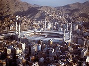 Makkah Saudi Arabia Haram before New Extension Hajj