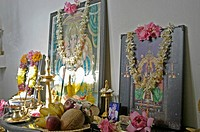 POOJA ROOM IN COMMON HINDU FAMILY
