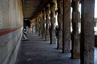 CORRIDOR OF MADURAI MEENAKSHI TEMPLE