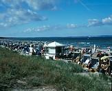 Deutschland, Mecklenburg_Vorpommern, Ostsee, Ruegen, Binz, Badestrand, Germany, Baltic See, Ruegen, Binz, bathing beach