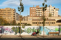 Avenida de Ranillas. Zaragoza. Aragon, Espan~a.