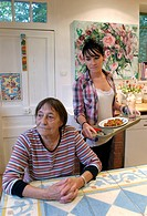 Woman meal help