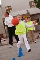 School kids sport