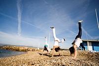 Women acrobatics
